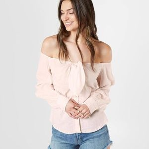 NWT Free People Hello There Off the Shoulder